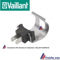 capteur de température NTC, sonde VAILLANT 0020068120 , Temperatuurvoeler NTC
