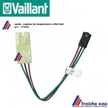 sonde de température, sensor, capteur à effet de HALL 711933  VAILLANT