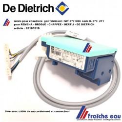 relais de chaudière gaz 85185519 type 577 DBC control box, coffret de sécurité pour REMEHA, BROTJE, OERTLI, CHAPPEE, DE DIETRICH