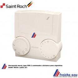 thermostat mural SAINT ROCH FBR 2 pour régulation LAGO , commande à distance pour tableau de bord ZAEGEL HELD