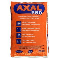 sel axal Solvay  en pastilles pour la régénération de l'adoucisseur de toutes marques   et traitement de l'eau potable