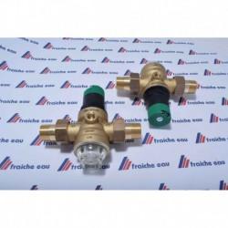 réducteur de pression réglable HONEYWELL- BRAUKMANN  1/2 réglable avec fitre inox