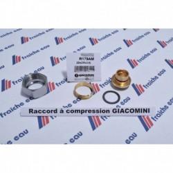 écrou GIACOMINI  M22 x tube pex-al-pex 26 mm, connexion mécanique avec bague à serrage pour tube 26x3 mm
