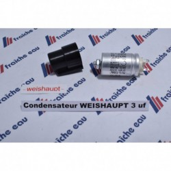 condensateur de démarrage 3  µf WEISHAUPT