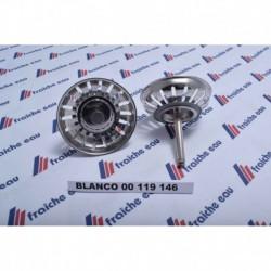 bouchon  de crepine auto  BLANCO ø 79 mm 18 fentes 00119146