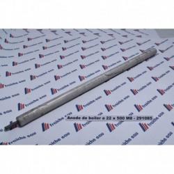 anode de protection de la cuve du boiler BAUKNECHT magnesium  ø  22 X 500 mm M8 , anode sacrificielle