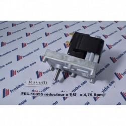 moteur pellets 4,75 RPM ..SNELLA , HRV 200 , HRV 135 , HRV 200 TOUCH
