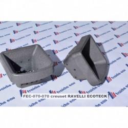 creuset  RAVELLI / ECOTECK  MONICA- LISA+   RV80- MAVI 070-07-001 N