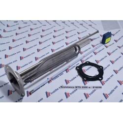 résistance + joint + anode MTS mono 2500 watts bride ø 120, CHAFFOTEAUX , STIEBEL , ARISTON, THERMAL, AEG