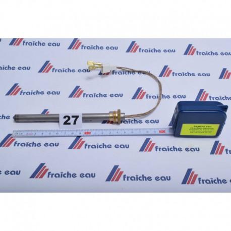 chandelle chauffante RAVELLI  140 mm 250 watts