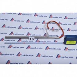 resistance electrique+ bride ALBA ø12,5 x 280 mm  470 w
