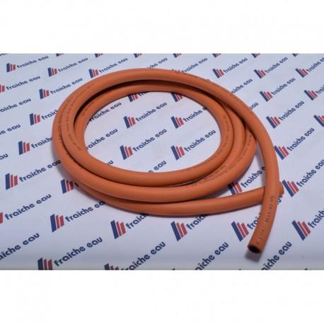 fexible gaz butane / propane basse pression  orange 8 mm au m/ct