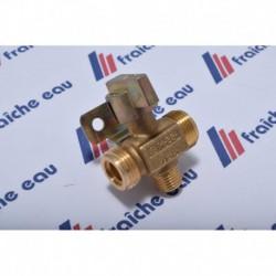 inverseur gaz butane et propane raccordement en haute pression , filetage 20 /150