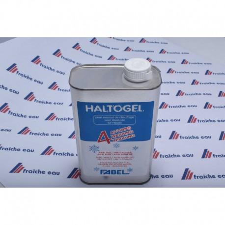 HALTOGEL produit anti gel , et anti boues à action préventive pour le fuel de chauffage ,limite la formation des algues