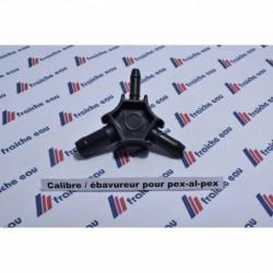 calibre / ébavureur  tube pour tubes PEX- PE et tubes synthétique