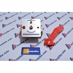 vanne mélangeuse  3 voies, raccordements en 3/4 fonctionnement manuel ou automatisation avec le moteur SM100