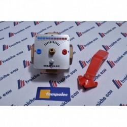 vanne mélangeuse motorisable TEMPOLEC à 4 voies pour application chauffage