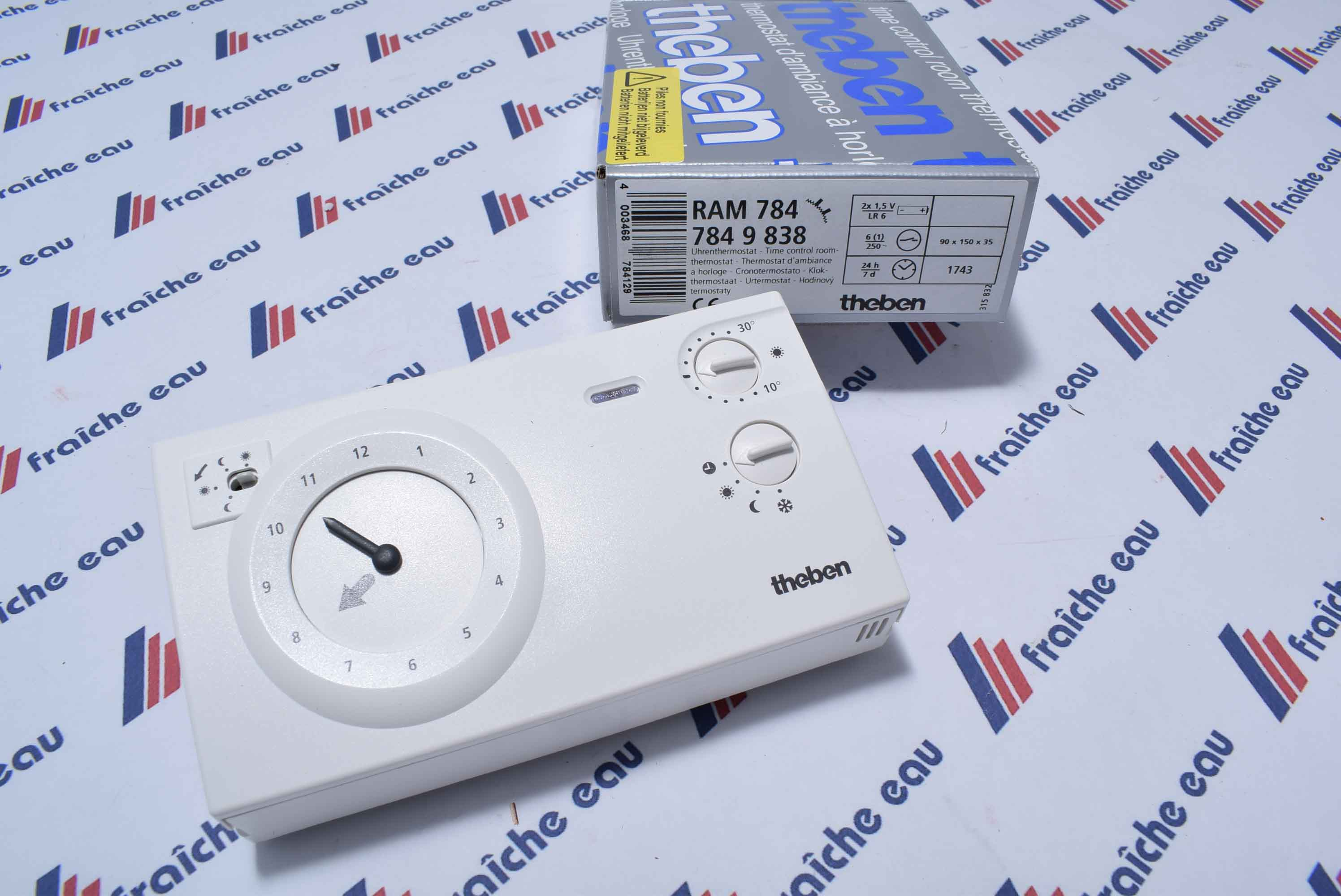 Thermostat Dambiance THEBEN RAM 784 Piles Non Incluses