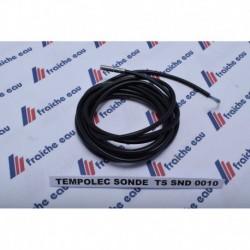 sonde de boiler, détection de la température par thermistance , sonde de ballon d'eau chaude